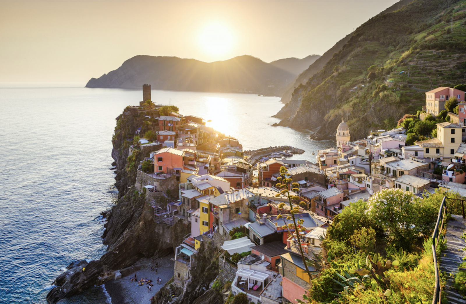 The Heart Of Cinque Terre vernazza is poetry in motion along northern italy's cinque